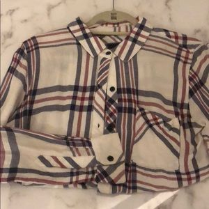 Rails button down shirt size small